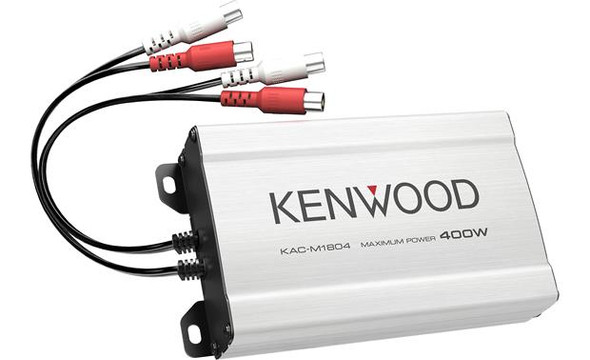 Kenwood  KAC-M1804 Compact 4-channel amplifier — 45 watts RMS x 4