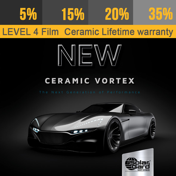 Window Tint Ceramic Film with Lifetime Warranty
