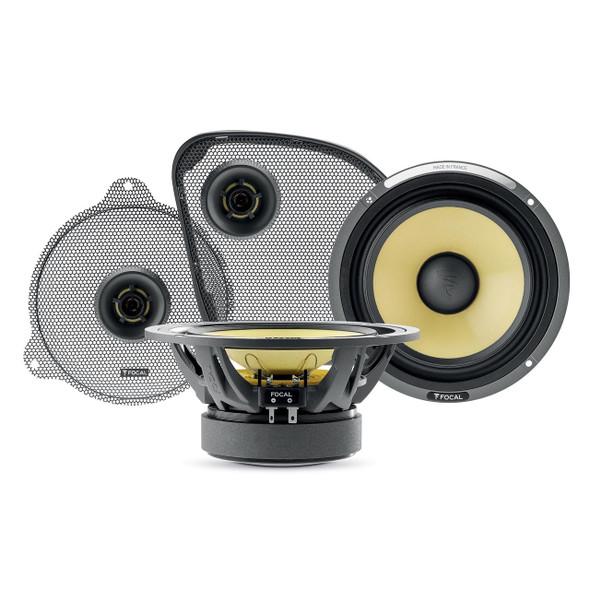 Focal HDK 165 - 2014 UP Kevlar Series Speaker Upgrade For 2014 And Up Harley-Davidson Motorcycles