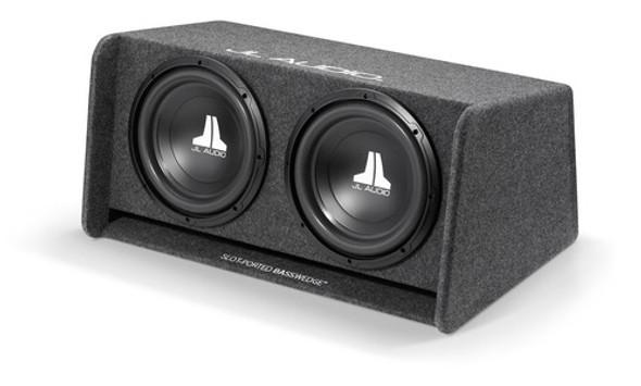 JL Audio CP212-W0v3: Dual 12W0v3 BassWedge, Ported, 2 Ω
