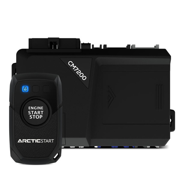 1-Way Remote Start, Lock, Unlock, Basic Installation