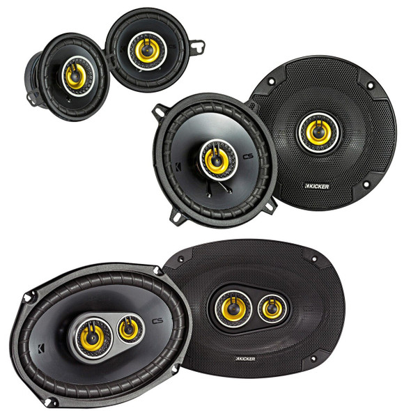 "Kicker CS Speaker Bundle for Dodge Ram Trucks 2002-2011, CS 6x9"" 3-way speakers, CS 5.25"" speakers, & CS 3.5"" speakers"