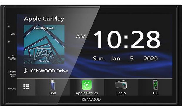 DMX4707s Apple Car Play by Kenwood
