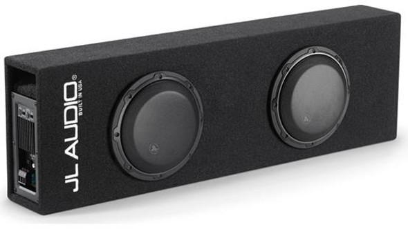 JL Audio ACP208LG-W3v3: Dual 8W3v3 MicroSub+™ with DCD™ Amplifier, Ported, 0.20 Ω