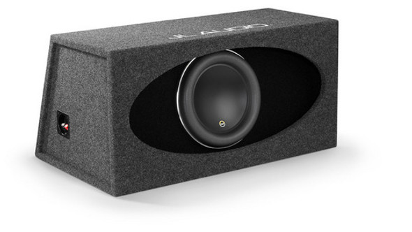 JL Audio HO112R-W7AE: Single 12W7AE H.O. Wedge, Ported, 3 Ω