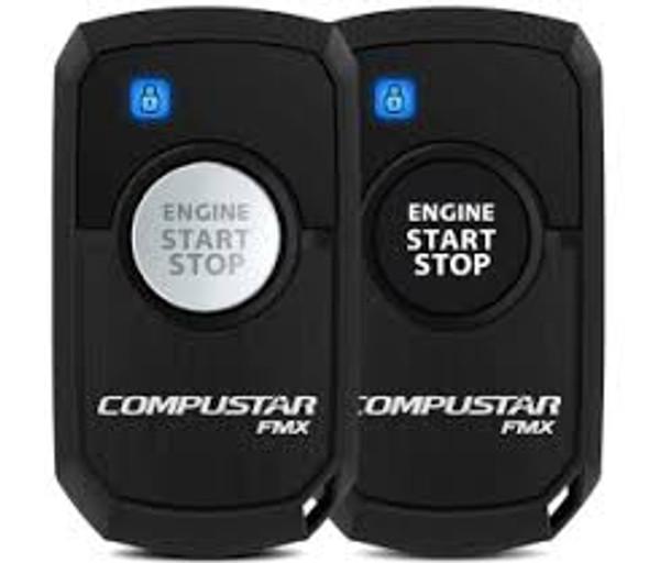 Compustar 2-Way LED Remote Start, Lock, Unlock, Basic Installation