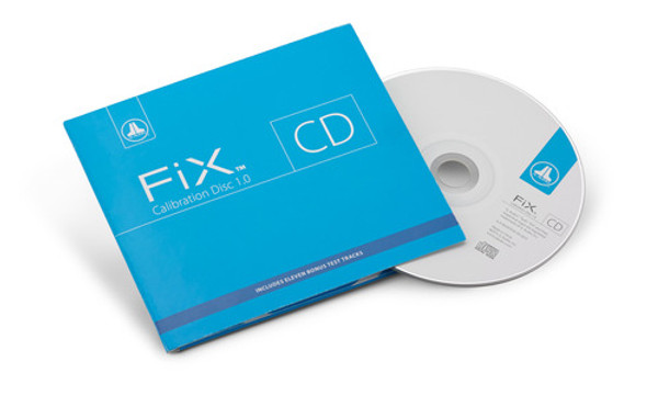 JL Audio FiX-CAL-CD: Audio CD for Calibration of FiX OEM Integration Products and general system tuning