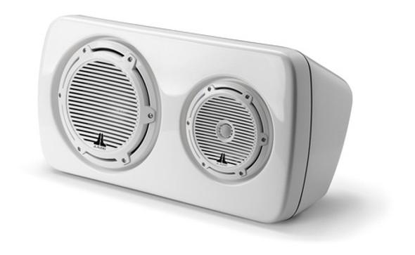 JL Audio M103EWS-CG-WH-R: 3-Way, Full-Range Enclosed System, Sealed, Right Side