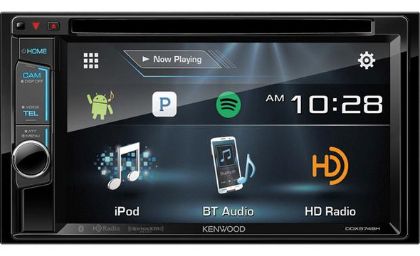 Kenwood DDX574BH DVD receiver