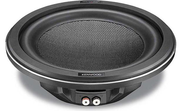 "Kenwood Excelon  KFC-XW1000F Shallow-mount 10"" 4-ohm subwoofer"