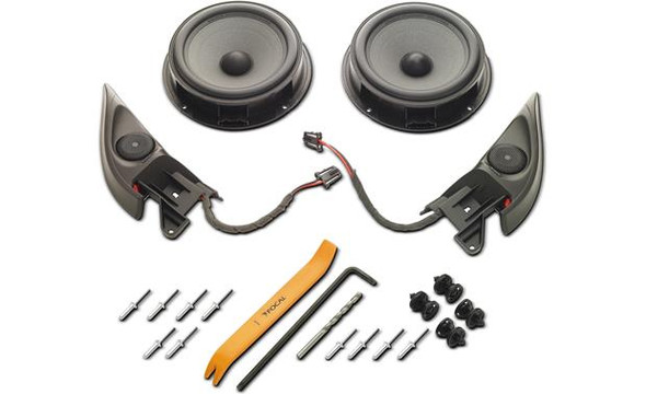 Focal Integration  IFVW Golf 6 Plug & Play speaker system for 2010-up Volkswagen Golf/GTI