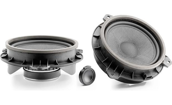 "Focal  IS 165TOY 6-1/2"" component speaker system designed to fit select Toyotas"