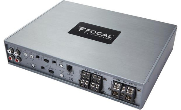 Focal FDP 4.600 4-channel car amplifier — 150 watts RMS x 4