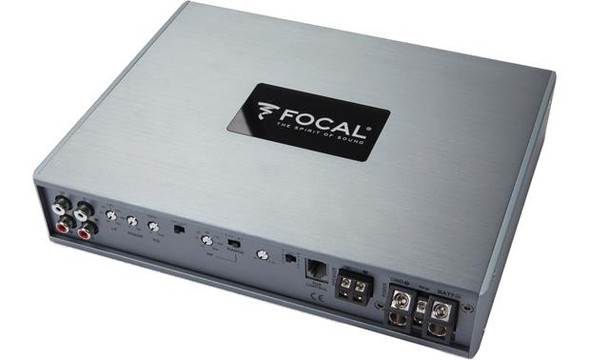 Focal FDP 6.900 6-channel car amplifier — 150 watts RMS x 6