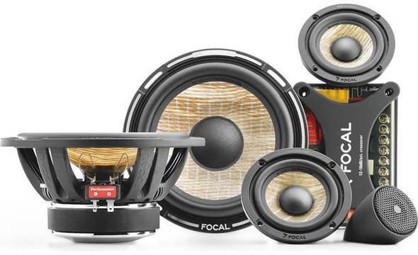 "Focal Performance PS 165F3 Expert Series 6-3/4"" 3-way component speaker system"