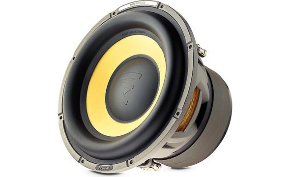 "Focal E 25 KX K2 Power Series 10"" dual 4-ohm voice coil component subwoofer"