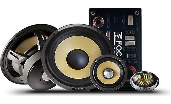 "Focal ES 165KX3 6-3/4"" 3-way component speaker system"