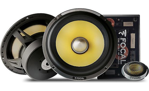 "Focal ES 165KX2 K2 Power Series 6-3/4"" component speaker system (2-ohm)"