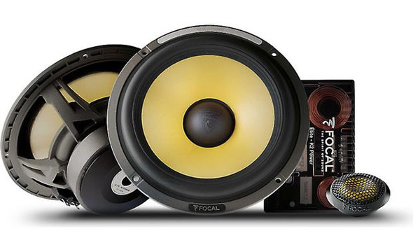 "Focal ES 165K Elite K2 Power Series 6-3/4"" component speaker system"