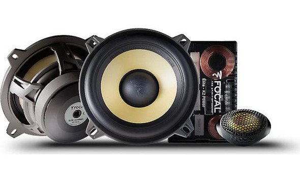 "Focal ES 130K K2 Power Series 5-1/4"" component speaker system"