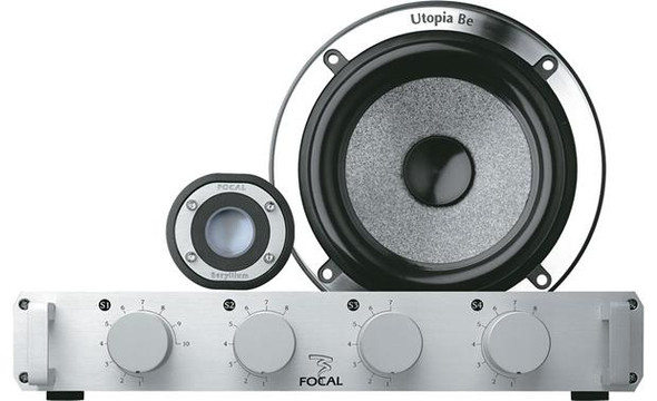 "Focal Utopia Be No. 5 5-1/4"" component speaker system"