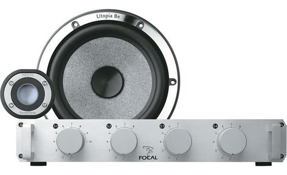 "Focal Utopia Be No.6 6-3/4"" component speaker system"