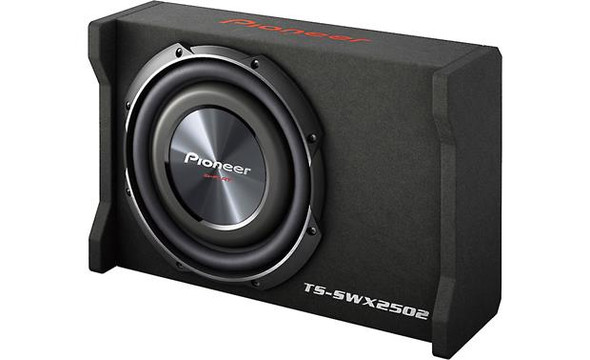 "Pioneer TS-SWX2502 Sealed enclosure with 10"" TS-SW2502S4 subwoofer"