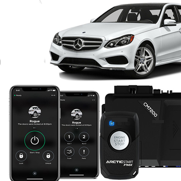 2-Way Mercedes Remote Remote Start With Phone App Control