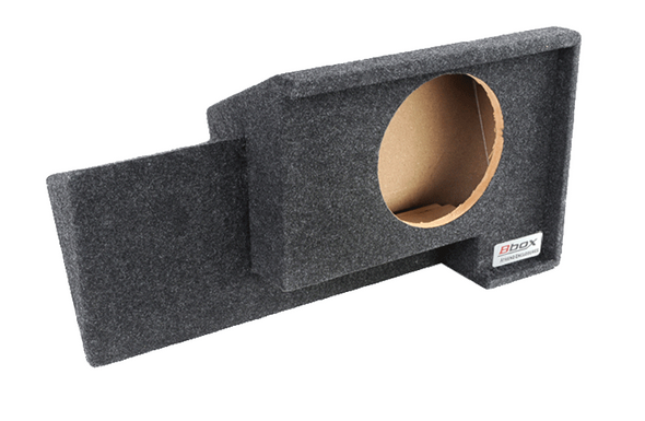 Atrend A101-10CP Carpeted BBox Series 10-Inch Single Down-Fire Subwoofer Box for 1988-1998 GM Extended Cabs