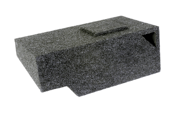 "Atrend A141-10CPV Single Vented 10"" Classic Body Style Silverado & Sierra Extended Cabs 1999-2007 Carpeted Enclosure"