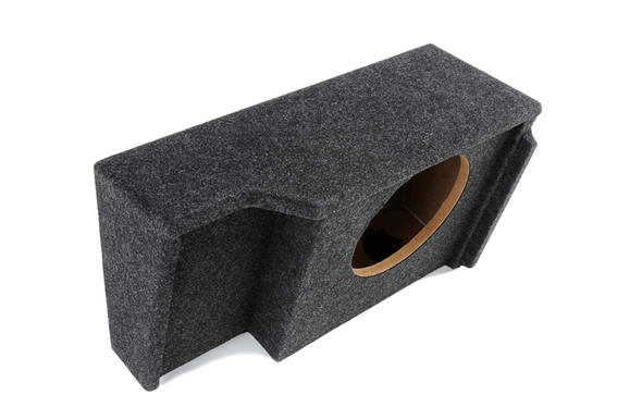 """Atrend A151-12CP Single 12"""" Carpeted Finish Vehicle Specific Enclosure for GM Extended Cab vehicle years between 1999-2007"""