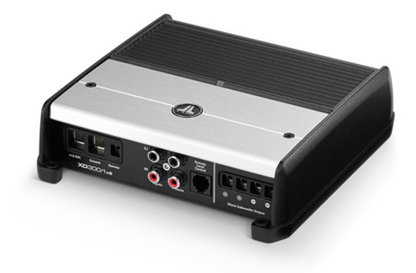 JL Audio XD300/1v2: Monoblock Class D Subwoofer Amplifier, 300 W