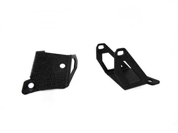 "RS-NR-L12 07-16 Jeep Wrangler Single 4.3"" Spot Light Window Pillar Brackets"