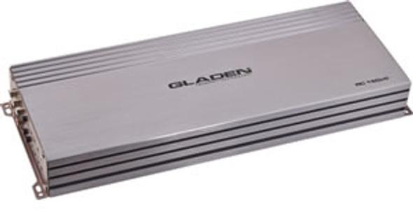 GLADEN RC 150c5 5 channel class AB amplifier: 4X90W, Class D 1x580W