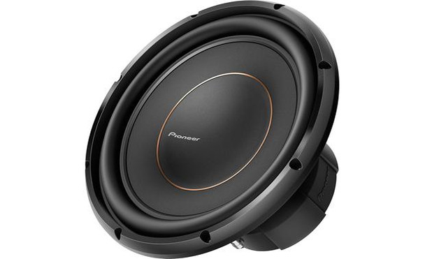 """Pioneer TS-D12D4 12"""" subwoofer with dual 4-ohm voice coils"""