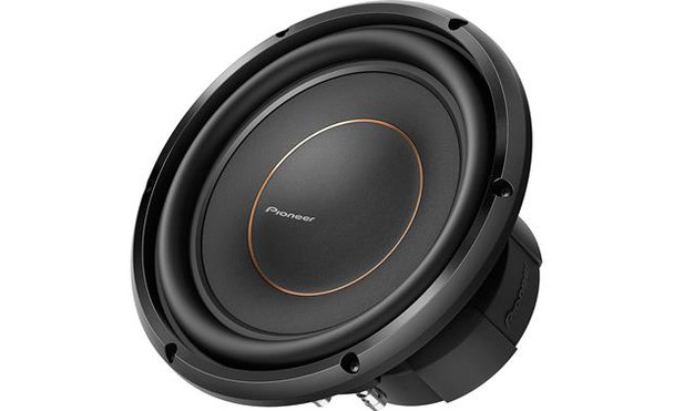 """Pioneer TS-D10D4 10"""" subwoofer with dual 4-ohm voice coils"""