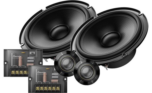 """Pioneer TS-Z65CH 6-1/2"""" component speaker system"""