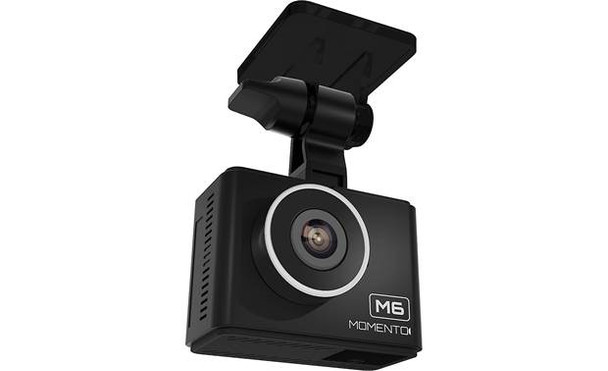 Momento - M6 Full HD Dual Dash Cam Bundle - Black
