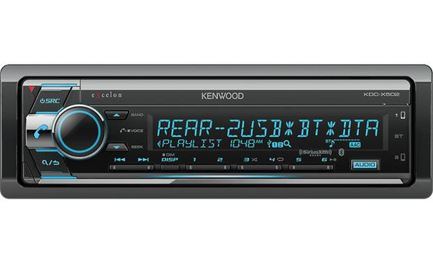 Kenwood Excelon KDC-X502 CD receiver