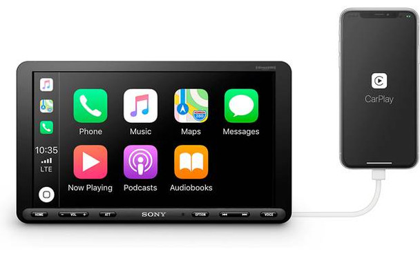 "Sony XAVAX8000 8.95"" Touchscreen Apple Car Play"
