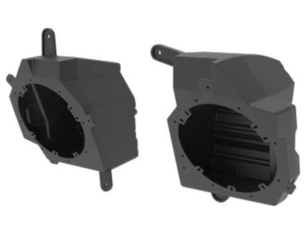 Metra JP-1014 Speaker Pods Jeep Wrangler JL dash conversion to 6.5in