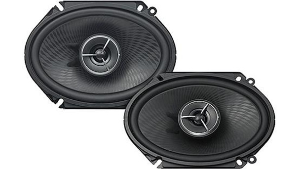 "Kenwood Excelon  KFC-X683C 6""x8"" 2-way car speakers"