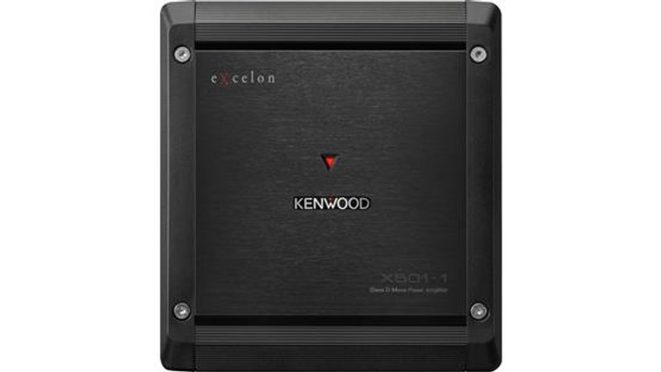 Kenwood Excelon  X501-1 mono subwoofer amplifier 300 watts RMS x 1 at 4 ohms (500 watts RMS x 1 at 2 ohms)