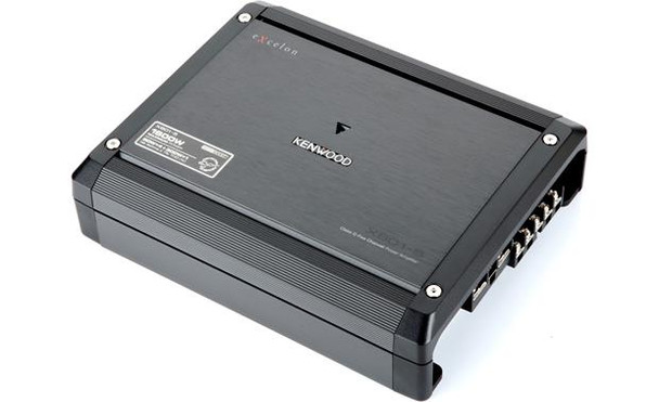 Kenwood Excelon  X801-5 5-channel car amplifier — 50 watts RMS x 4 at 4 ohms + 500 watts RMS x 1 at 2 ohms