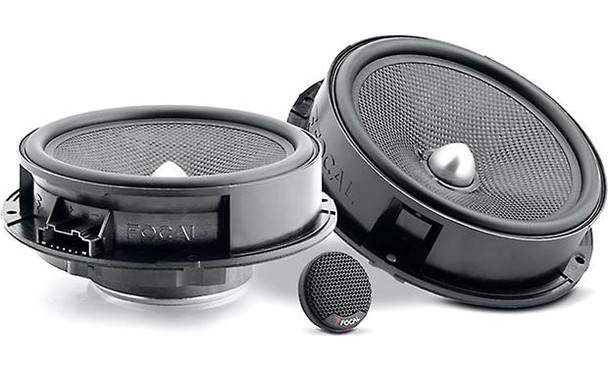 "Focal Integration  IS 165VW 6-3/4"" Plug & Play component speaker system designed to fit select Volkswagens"