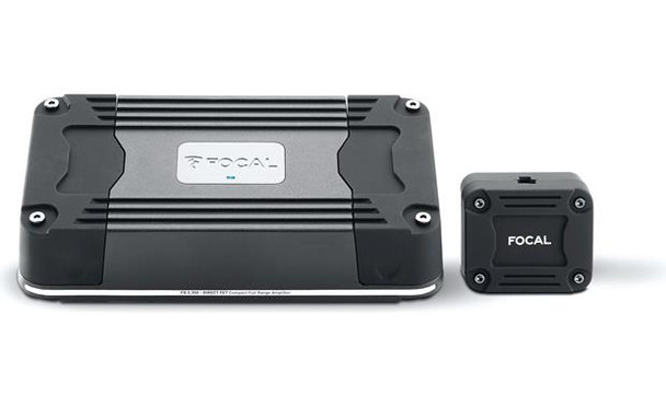 Focal FD 2.350 Compact 2-channel car amplifier — 105 watts RMS x 2