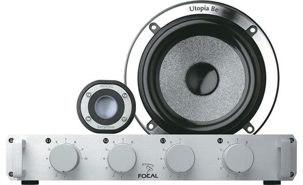 """Focal Utopia Be No. 5 5-1/4"""" component speaker system"""