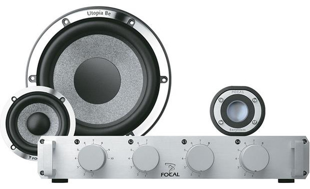 """Focal Utopia Be No.7 6-3/4"""" 3-way component speaker system"""