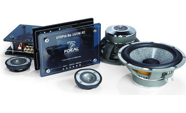 """Focal Utopia Be 165W-RC 6-3/4"""" component speaker system"""