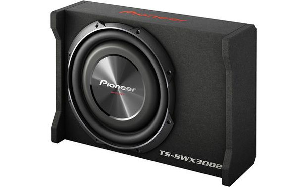 """Pioneer TS-SWX3002 Shallow sealed enclosure with 12"""" TS-SW3002S4 subwoofer"""